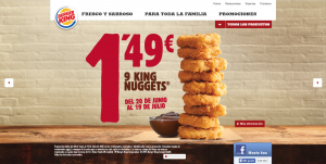 marketing gastronomico burger king