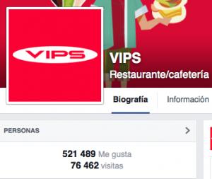 marketing gastronomico vips social media