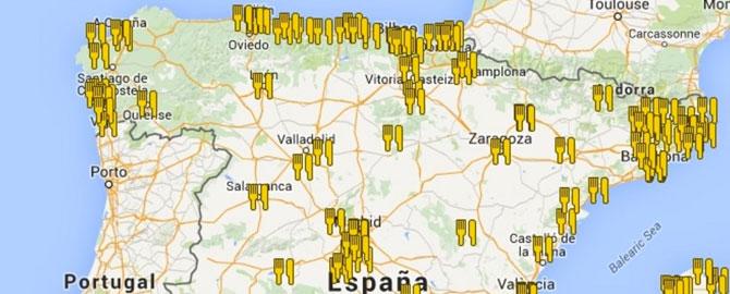 mapa da michelin Mapa Estrellas Michelin | Marketing Gastronómico mapa da michelin
