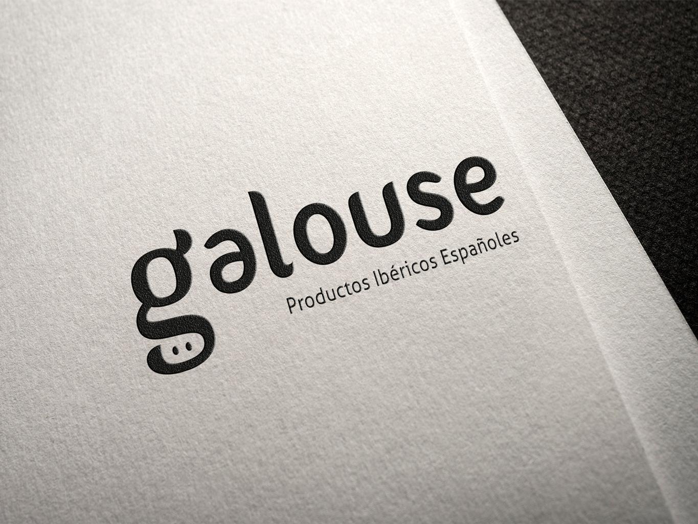 diseño logotipo galouse