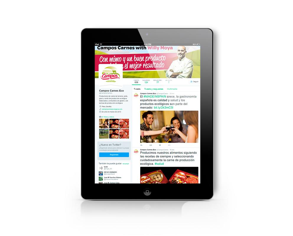 campos carnes ecológicas | diseño web | marketing gastronómico